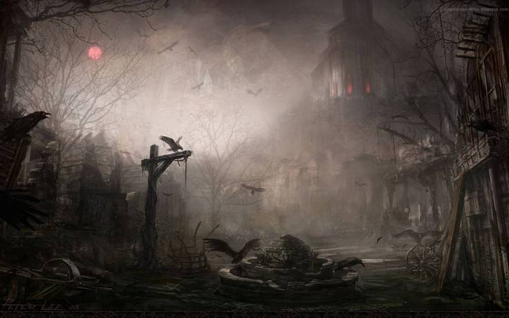 ghost-gothic-town-wallpaper